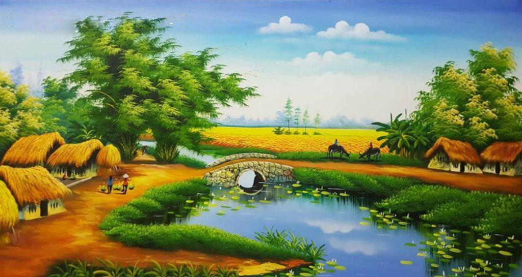 Bài mẫu viết về cuộc sống nông thôn bằng tiếng Anh
