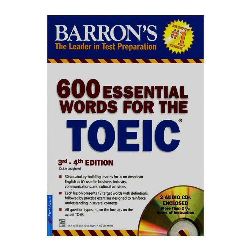 Bìa sách 600 Essential Words For The Toeic