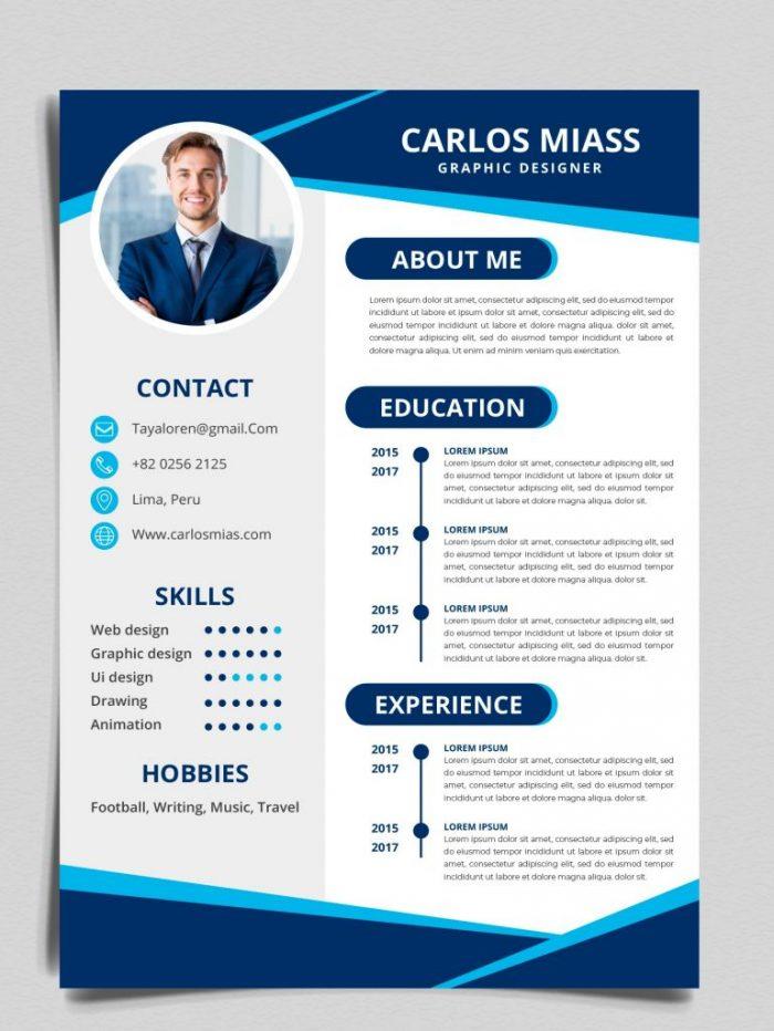 Bố cục của CV tiếng Anh