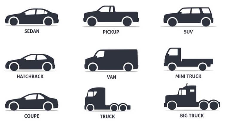 Từ vựng các loại xe ô tô bằng tiếng Anh