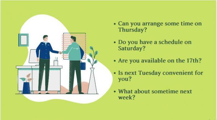 Đặt hẹn bằng tiếng Anh đơn giản và dễ dàng nhất
