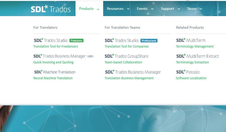 Phần mềm dịch tiếng Anh SDL Trados