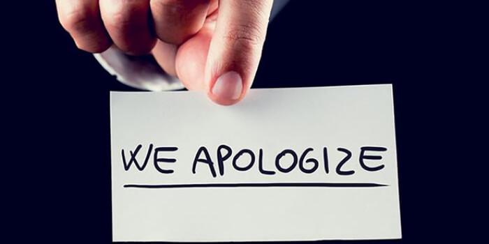 Chi tiết cách dùng cấu trúc Apologize trong tiếng Anh có bài tập
