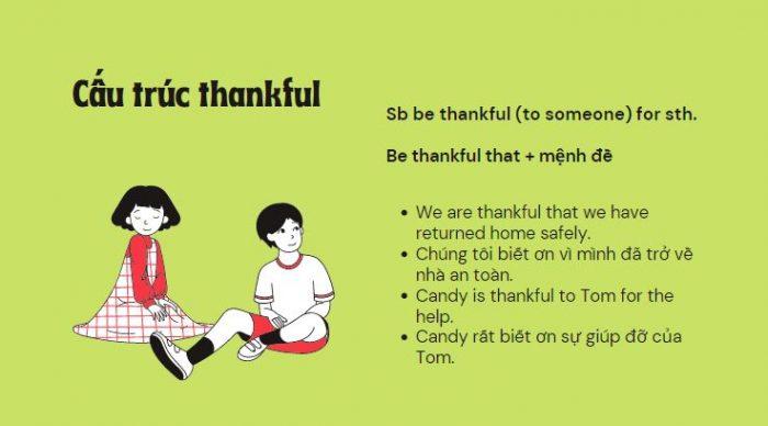 Cấu trúc thankful
