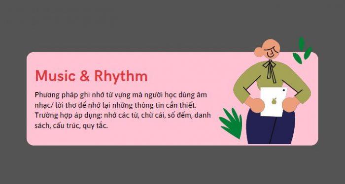 Phương pháp ghi nhớ từ vựng Thơ & âm nhạc (Music & Rhythm)