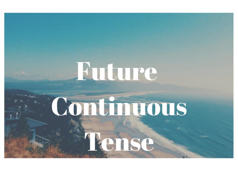 Những lưu ý khi dùng thì tương lai tiếp diễn