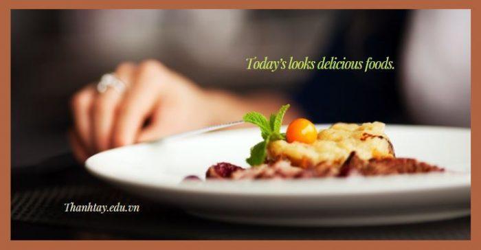 Mẫu câu giao tiếp tiếng Anh về bữa ăn