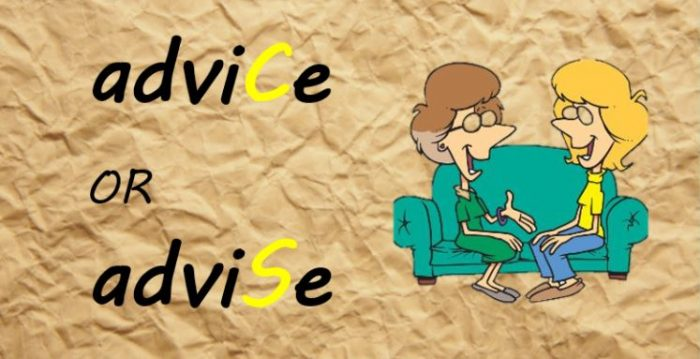 Phân biệt Advise và Advice