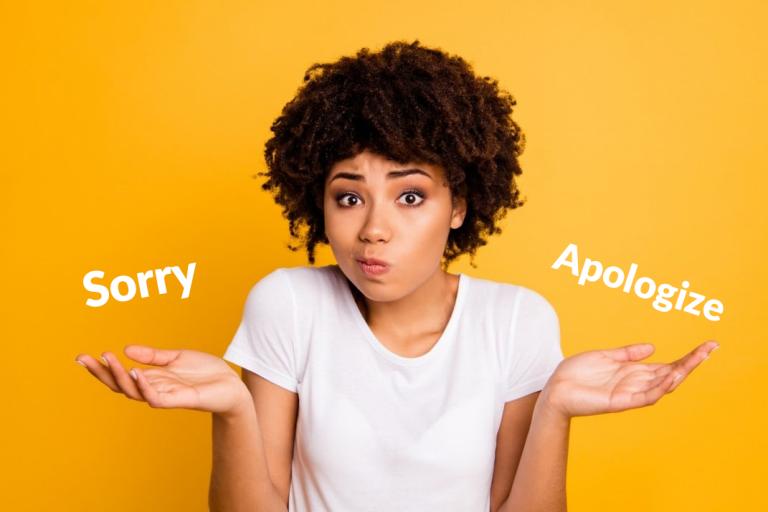 Phân biệt cấu trúc Apologize và Sorry trong tiếng Anh