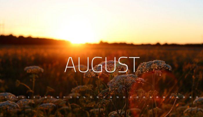 Nguồn gốc, ý nghĩa của tháng 8 trong tiếng Anh