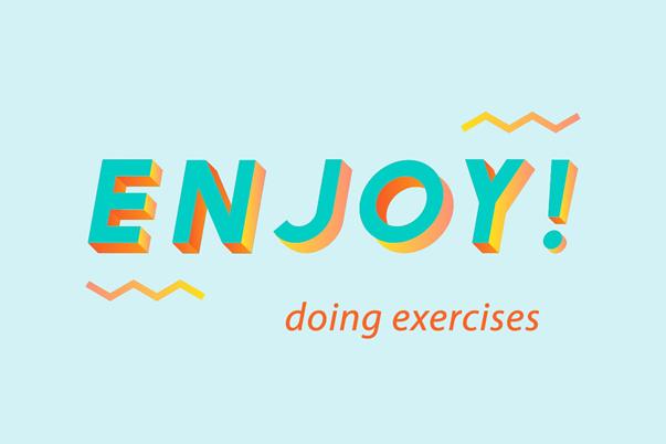 Bài tập ứng dụng về enjoy