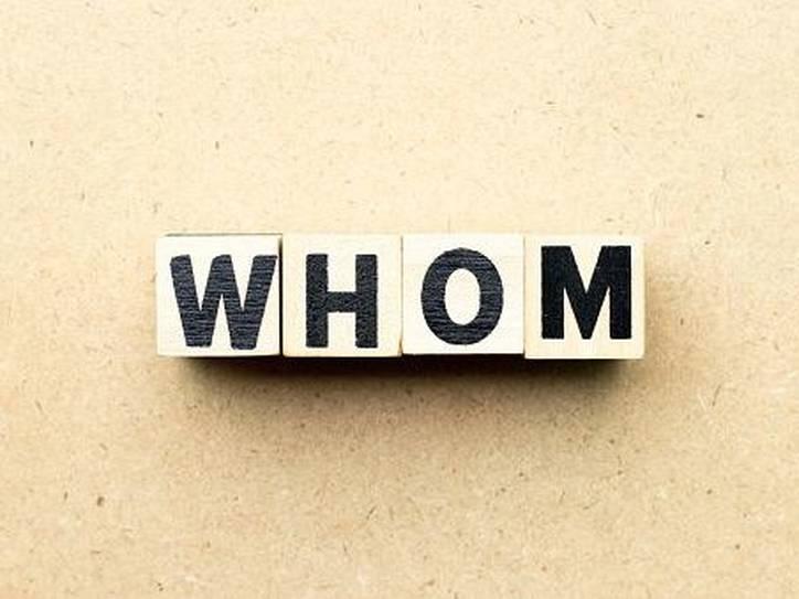 Cách dùng Whom