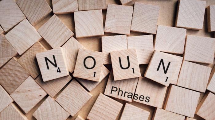 Cụm danh từ trong tiếng Anh