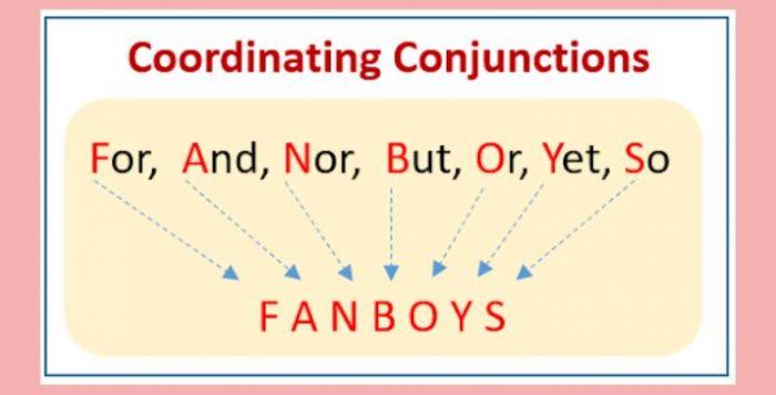 Liên từ kết hợp (Coordinating Conjunctions)