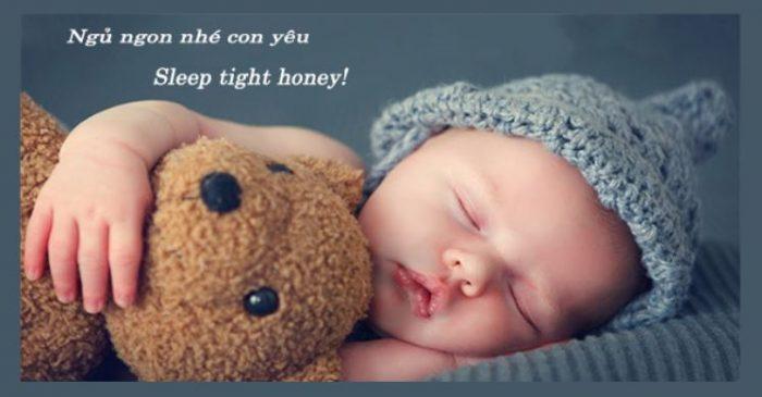 Những lời chúc ngủ ngon tiếng Anh cho trẻ em