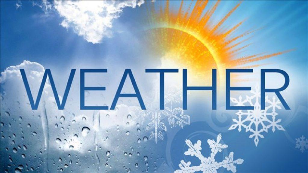 Từ vựng về các trạng thái thời tiết