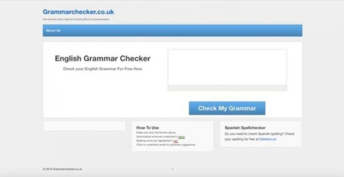 Website kiểm tra ngữ pháp tiếng Anh English Grammar Checker