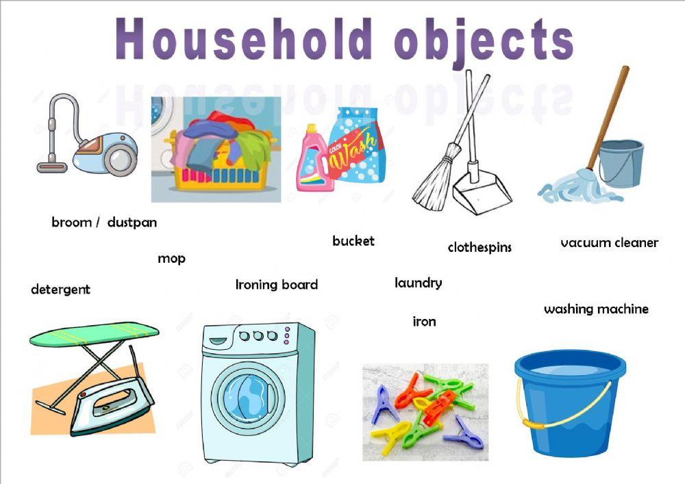 150+ Từ vựng tiếng Anh về các vật dụng trong nhà