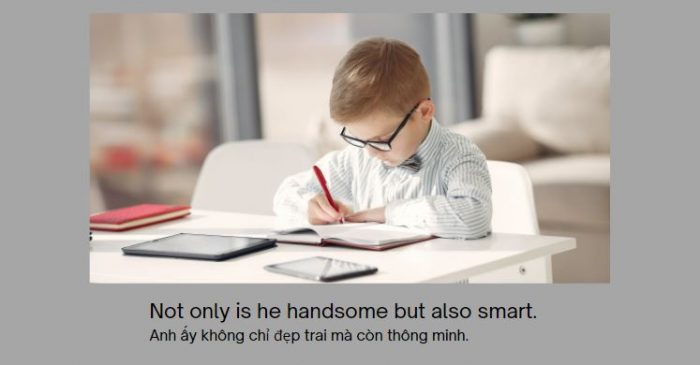 Đảo ngữ với NOT ONLY… BUT ALSO