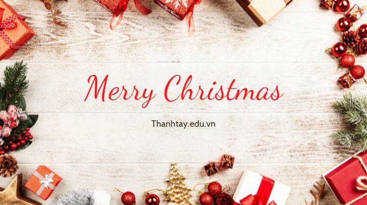 Những lời chúc Giáng Sinh bằng tiếng Anh hay nhất