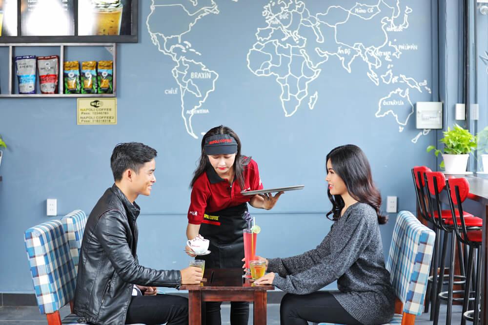 Một số mẫu câu giao tiếp tiếng Anh trong quán cafe thông dụng nhất