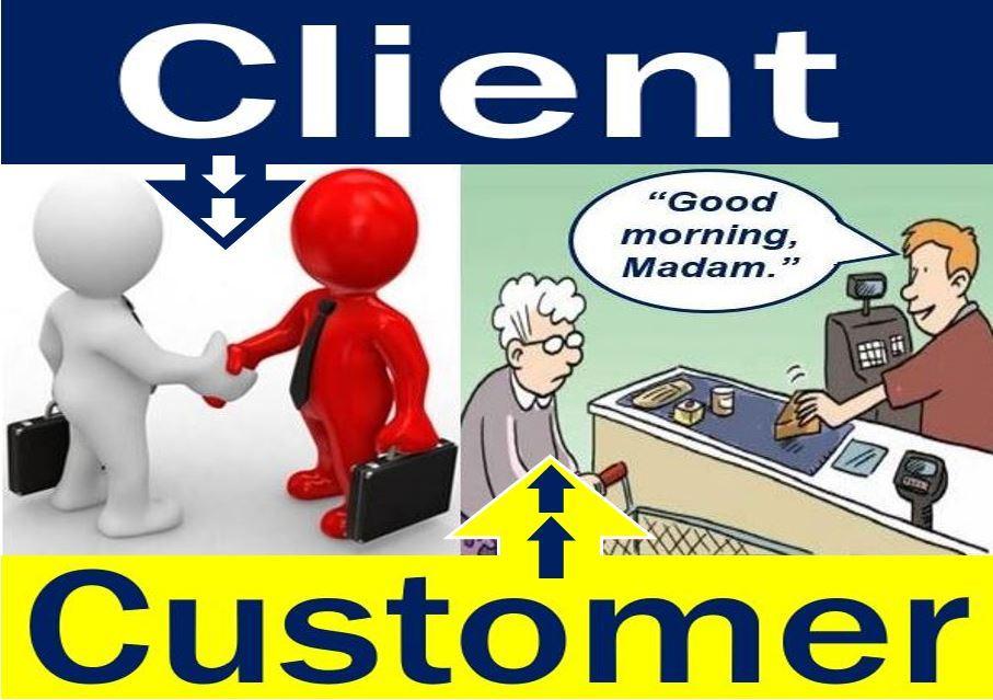 Sự khác nhau giữa Customer và Client trong tiếng Anh