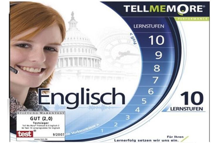Phần mềm Tell Me More English