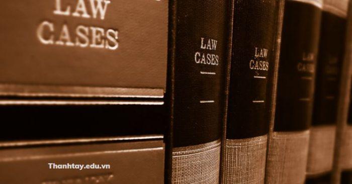 Thuật ngữ tiếng Anh chuyên ngành Luật